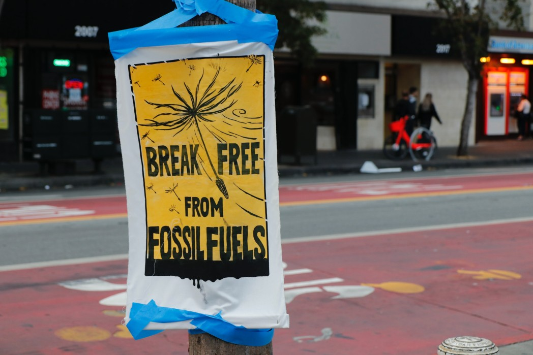 Fossil fuels, Climate awareness